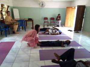 Yoga Therapy in Zambia